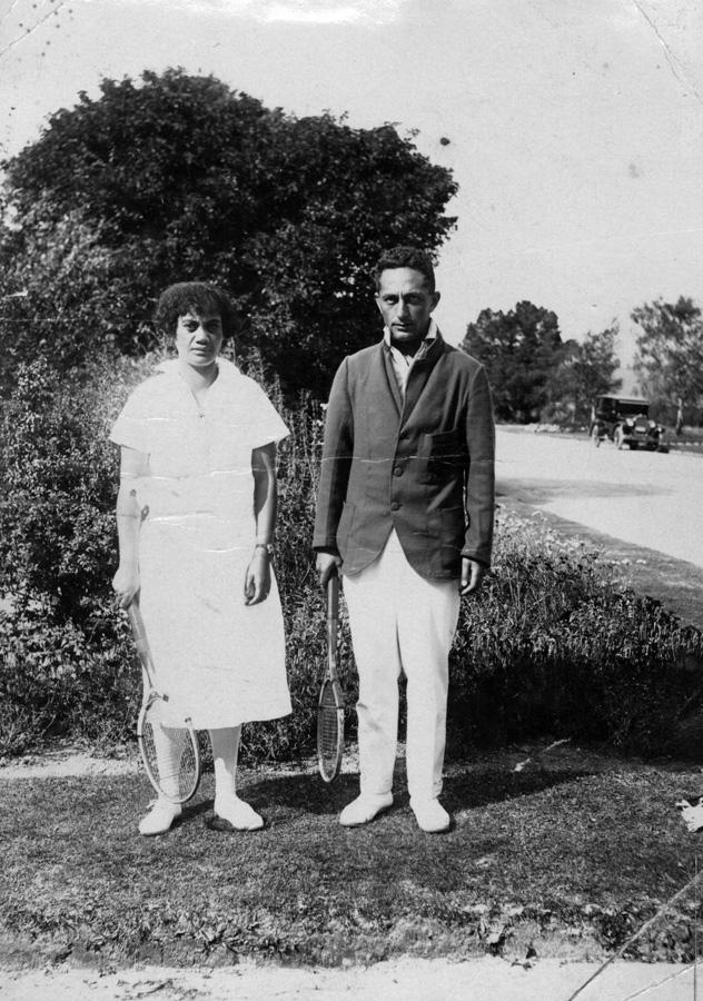 1926 NZMLTA Rotorua, Mixed Dbls R/U - R.Minarapa & Pei Jones