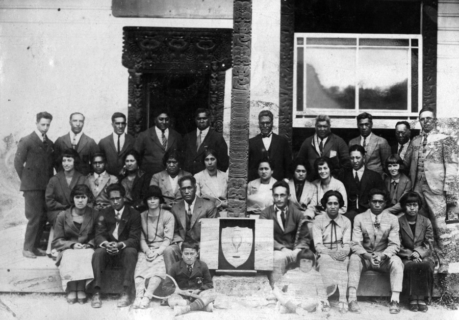 1926 Wanganui roopu at NZMLTA Rotorua