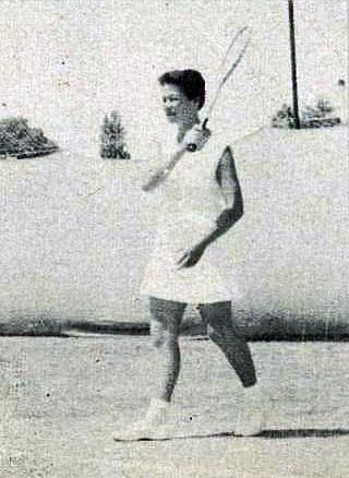 1956 NZ Junior Champs - Miss Annlock Emery