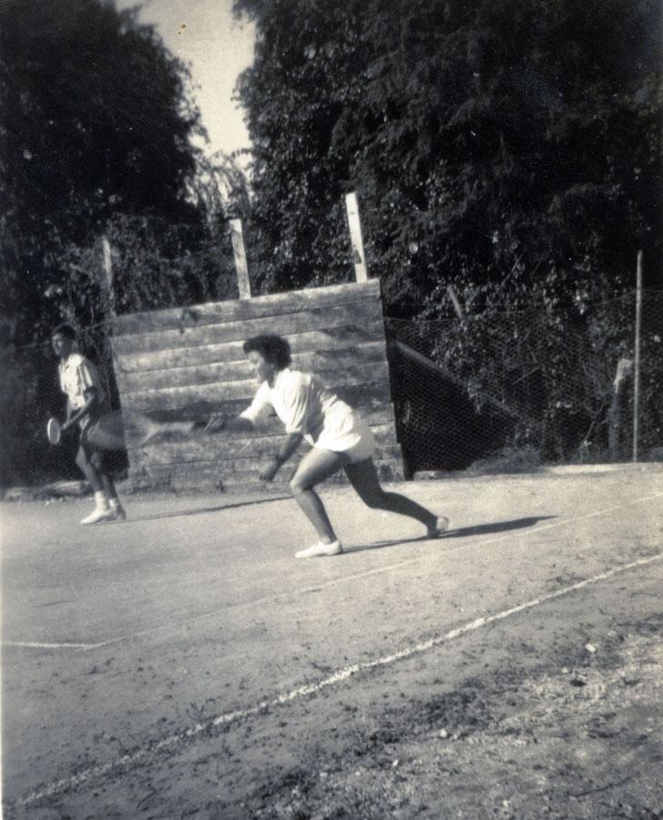 1957 Wiki Bidoi(nee Whyte) coached by Brian Jenkins