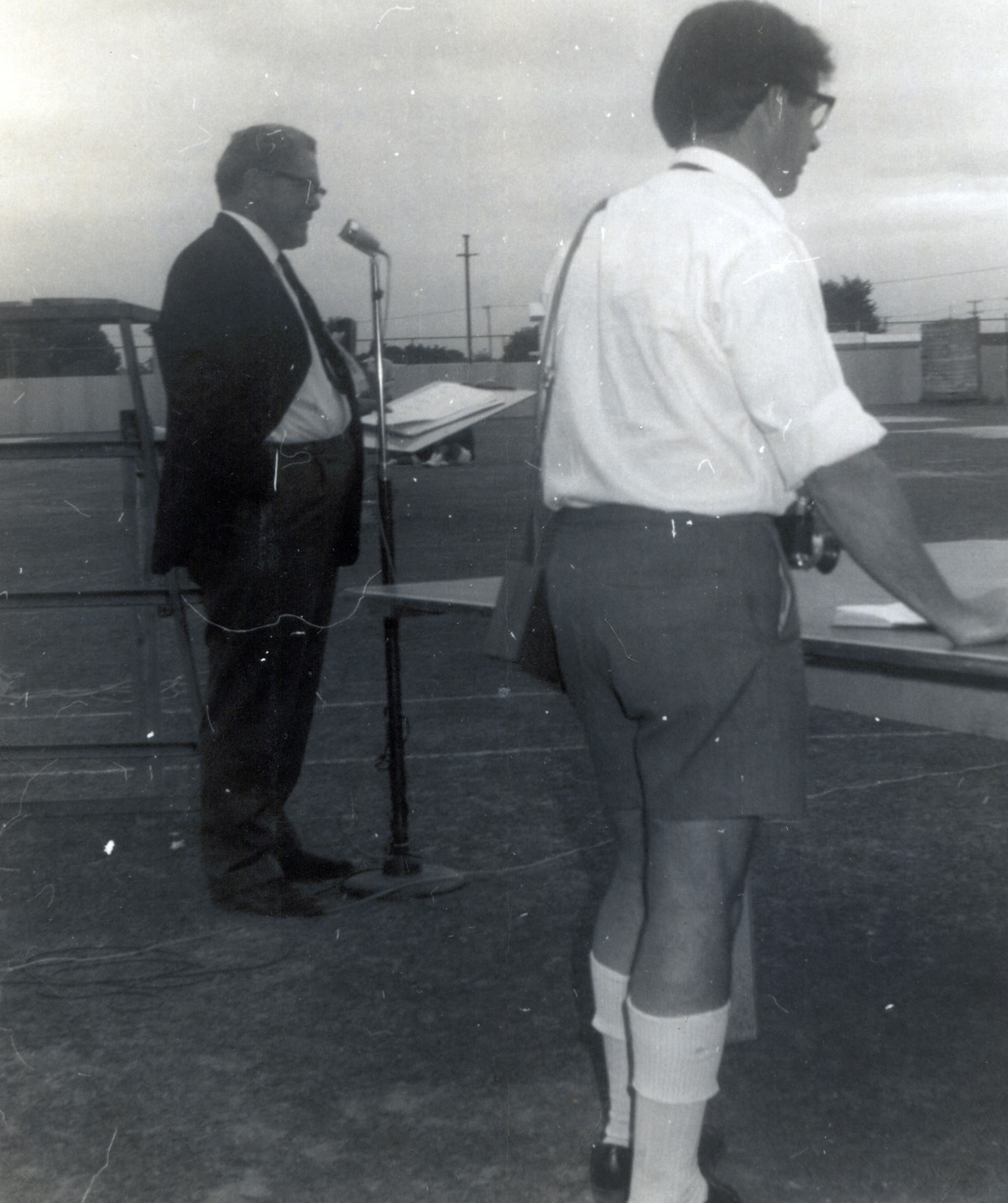 1969 NZMLT Tournament Gisborne - George Marsden Chairman PBEC committee