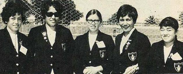NZMLTA Gisborne - Queen Vic School - Ramona Heke, Katarina Connelly, Janice Tumata, Charis Rata, Waina Waititi