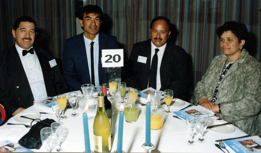 AMTA members to Maori Sports Awards - Frankie Dennis, Harry Tawhai, Charlie & Mrs Thompson