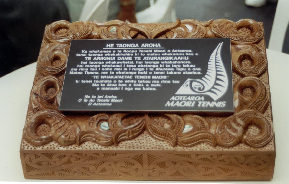 AMTA 75th Taonga, Master Carver - Maaka Te Moana, Ngai Tuhoe