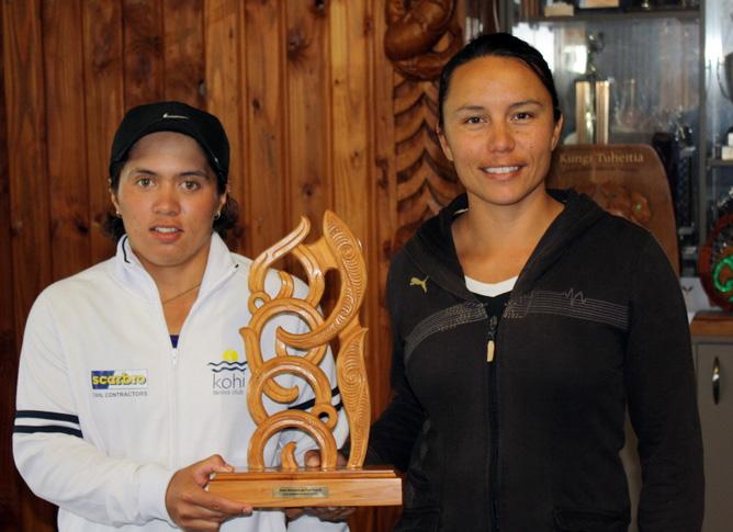 AMTA Hamilton - Womens Dbls winners, Luci & Tracey