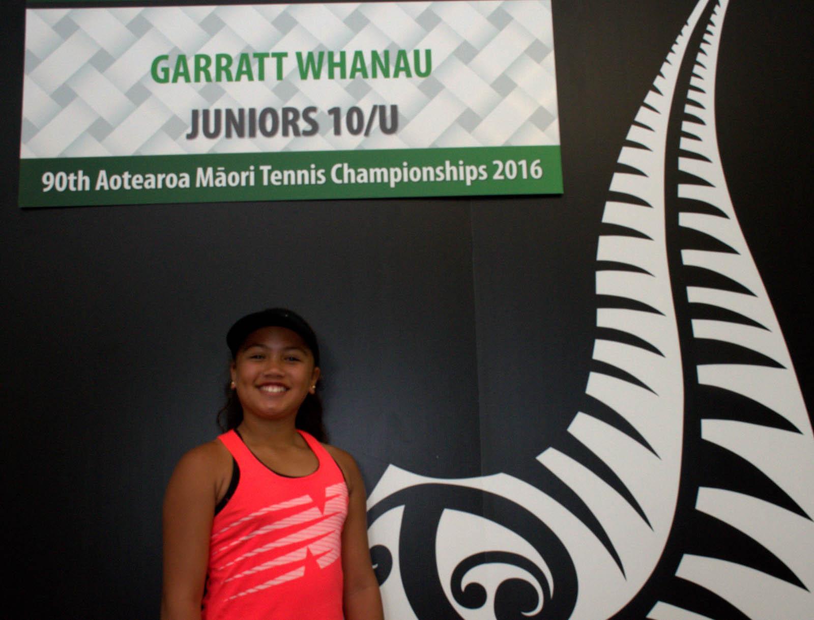 10s Girls Singles Winner - Zeeah Waerea-Tamai