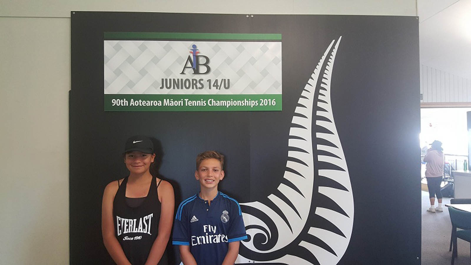 14s Mixed Doubles Winners - Tamara Teua & Carlos Bryce