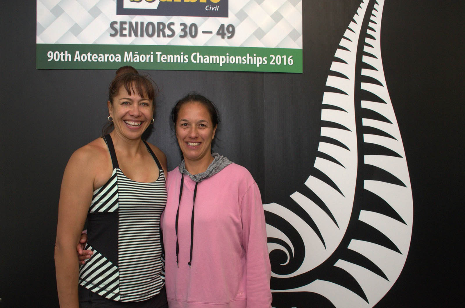 30-49 Womens Doubles Winner - Annie Hawaikirangi-Pere and Gayleen Carson
