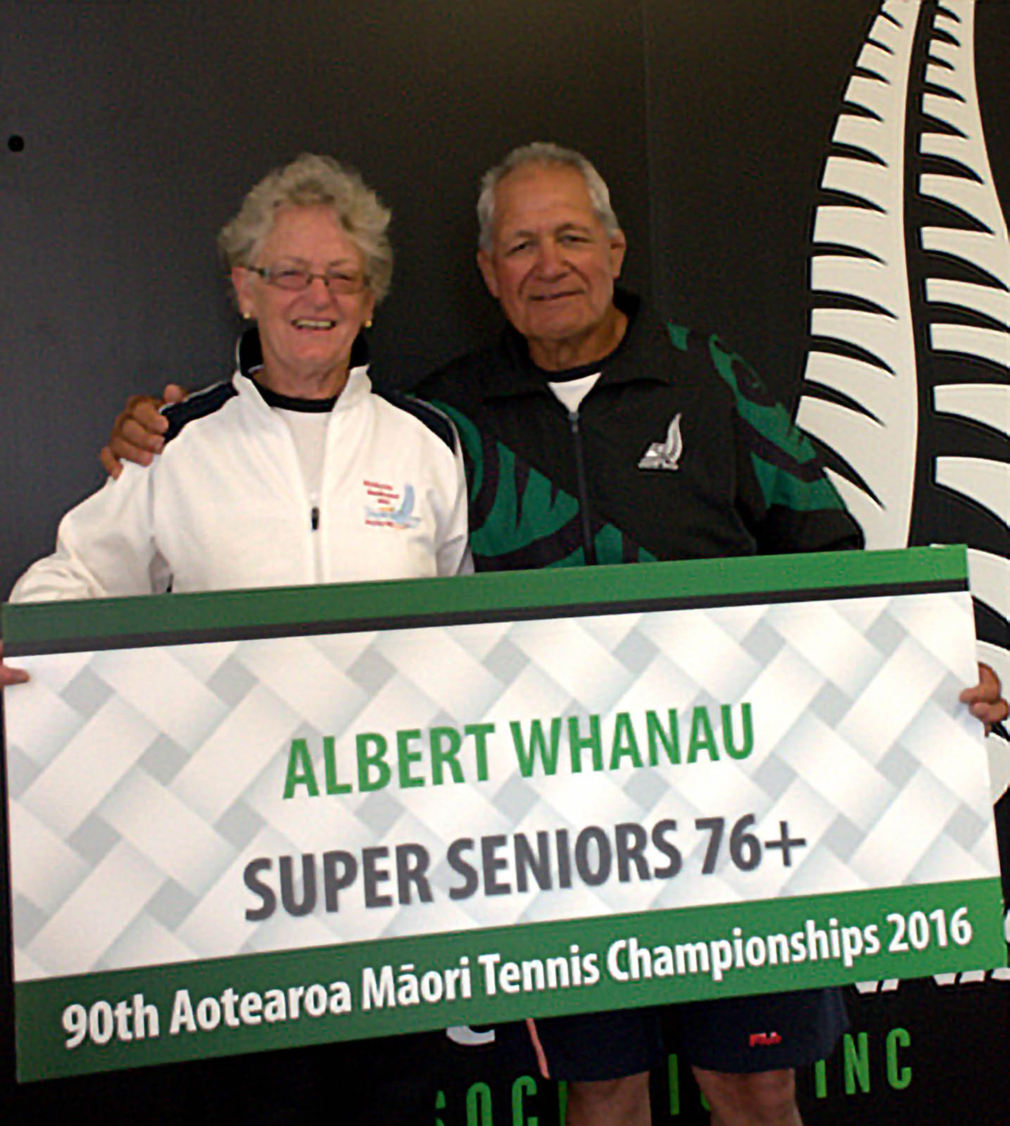 Super Seniors 76+ winners