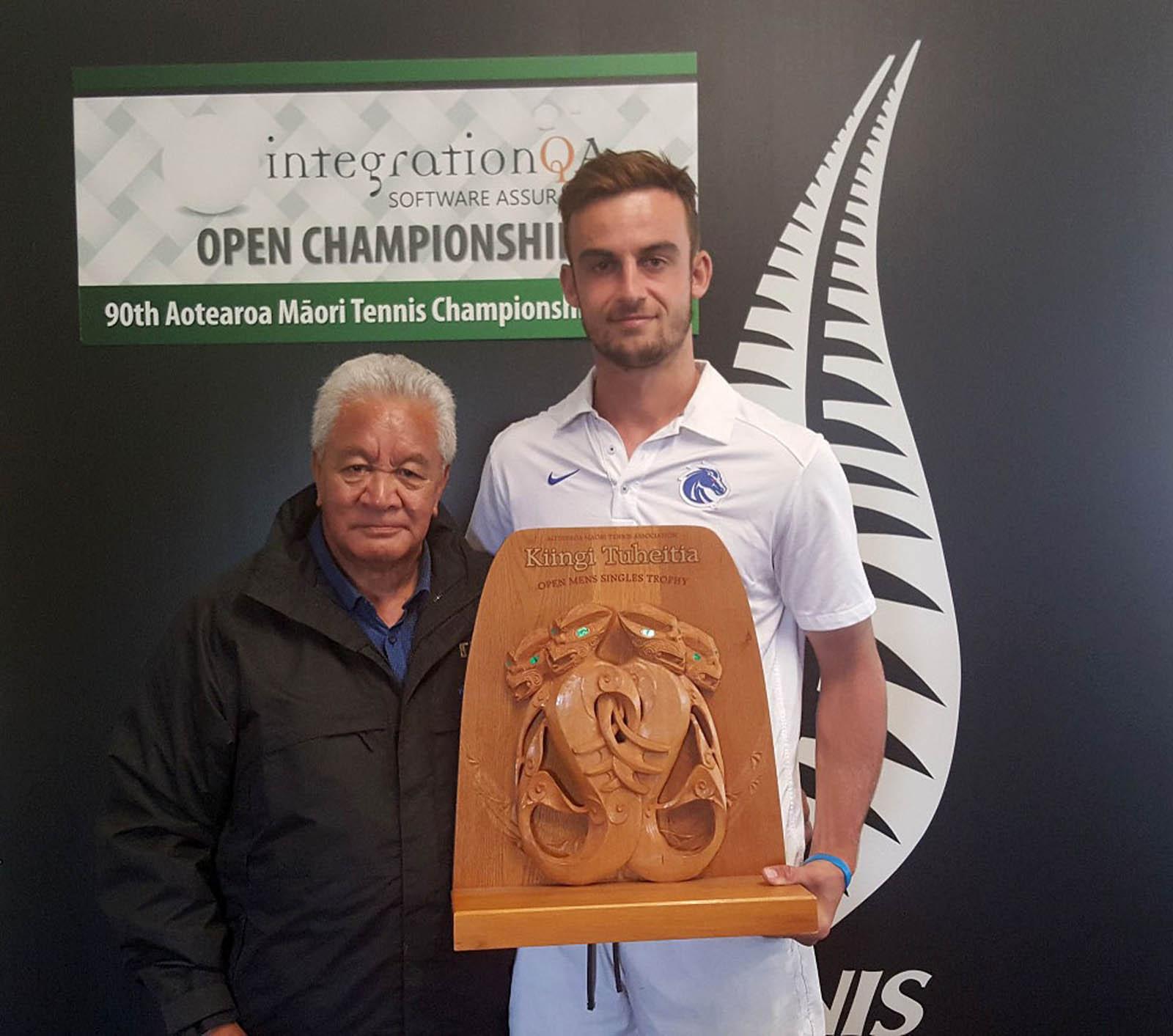 Open Mens Singles Winner - Kyle Butters (1)