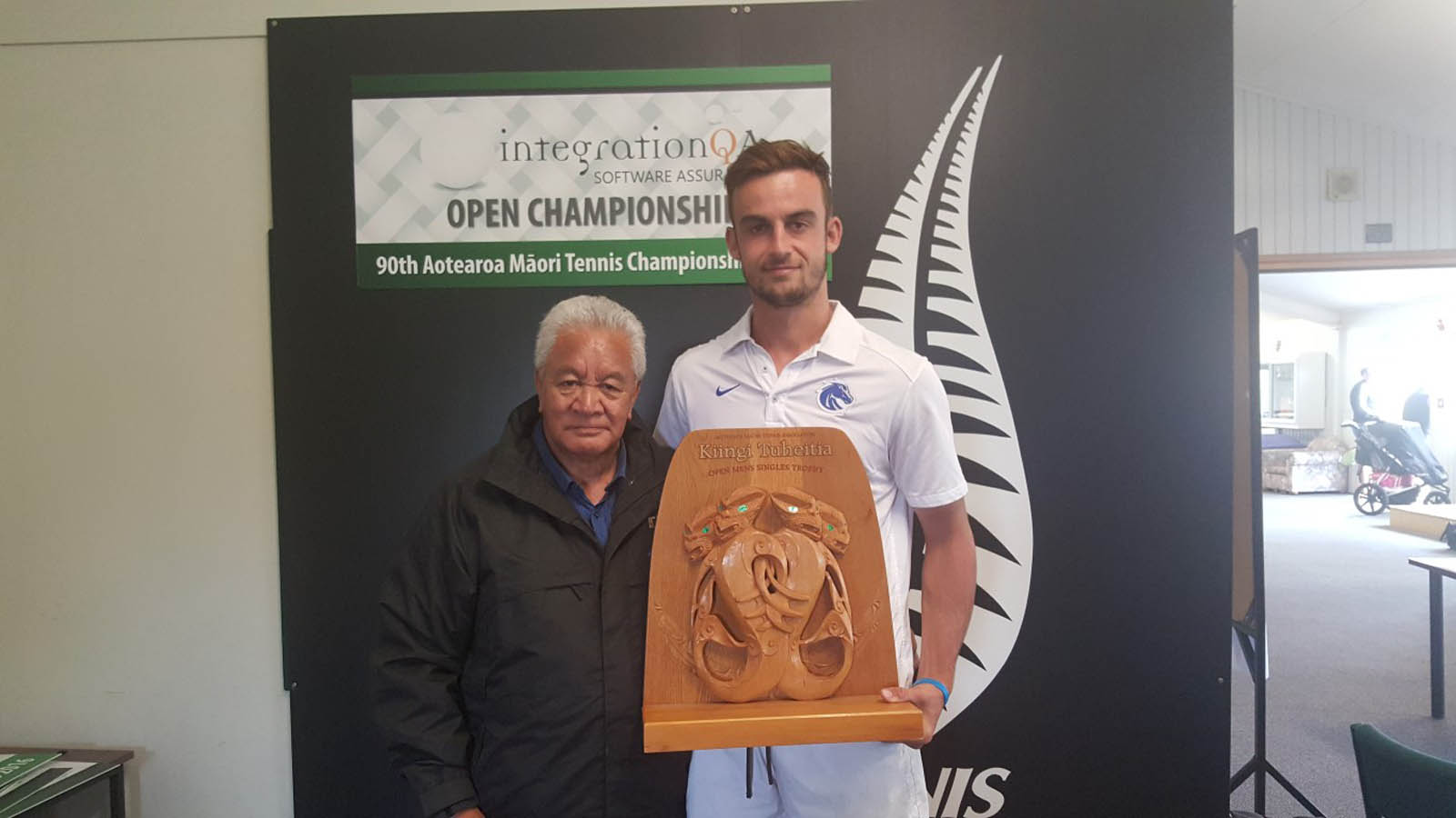 Open Mens Singles Winner - Kyle Butters