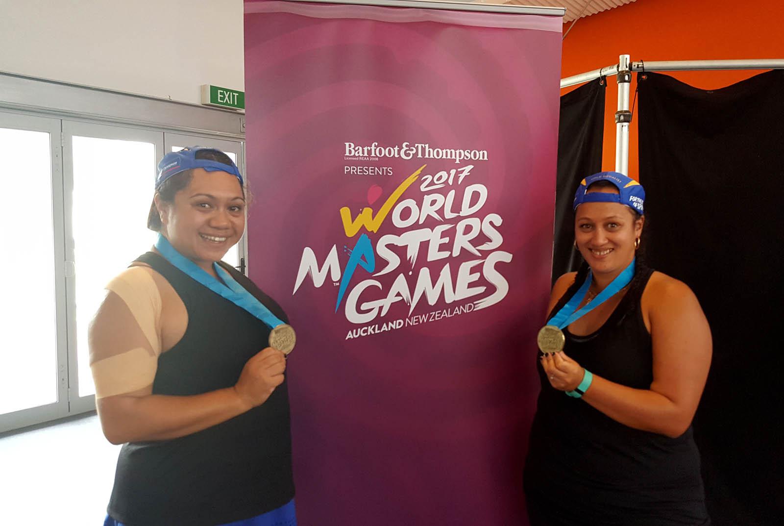 Amy KARENA & Wendy NGAROPO – GOLD 30+ B Women's Doubles
