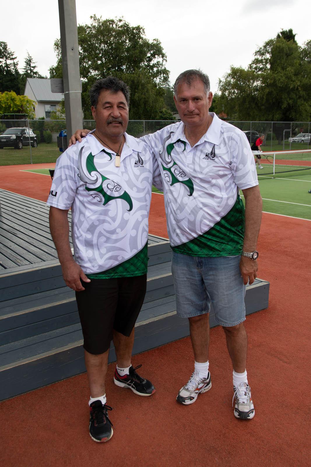 Integration QA 60-69 Mens Doubles Joint Winners Greg Johnson and Martin Wepa