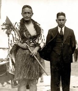 Pei Te Hurinui Jones – Secretary NZMLTA and King Koroki Te Rata Mahuta Tawhiao Potatau Te Wherowhero - Patron NZMLTA.