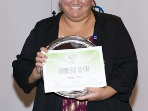 PEGGY TEMU – CLUB VOLUNTEER OF THE YEAR