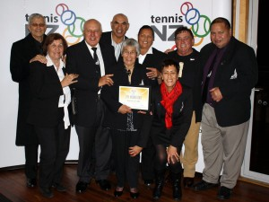 RUIA MORRISON MBE CELEBRATED AT TENNIS NZ AWARDS