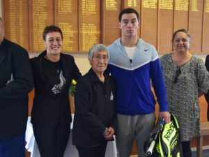 Local tennis star wins Maori tennis award