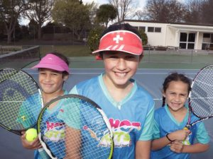 Tennis programme all about fun for kids