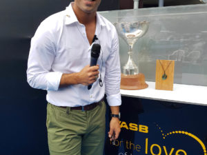 ASB CLASSIC – SKY TV PRESENTER, JORDAN VANDERMADE